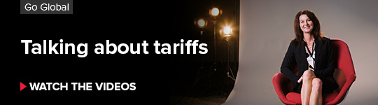 Talking about tariffs