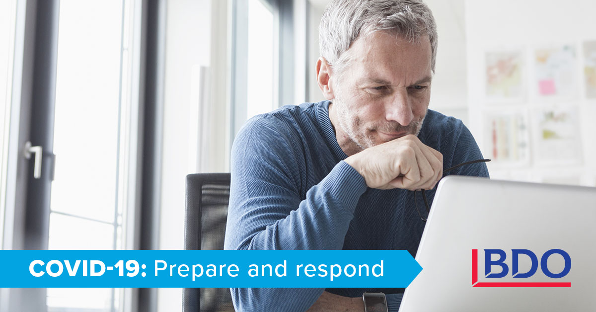 Tax Alert The Canada Emergency Response Benefit Cerb In Response To Covid 19 Bdo Canada